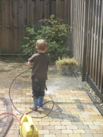Martijn maakt schoon