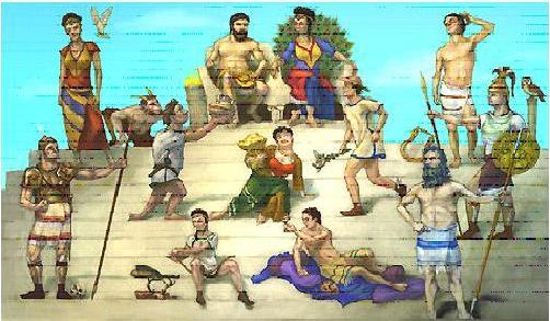 Voorkeur Griekse goden hoofdpagina #CW74