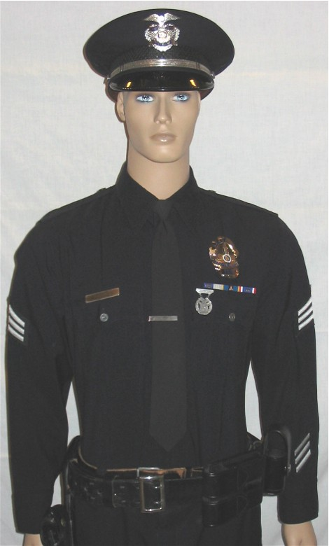 Los Angeles Police Dept. Sergeant's uniform