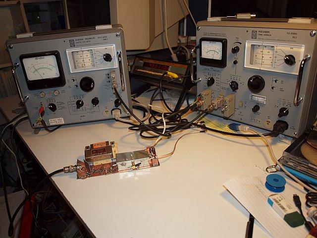 455 Khz Filter Measuring Setup Development